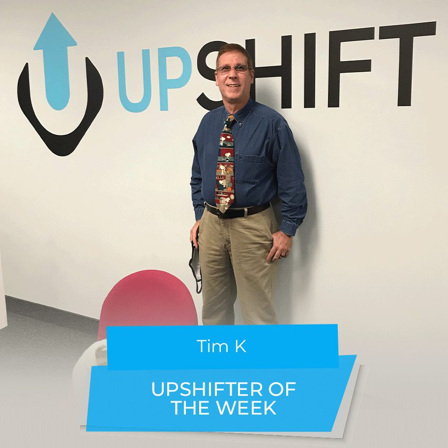 Tim uses Upshift to find flexible gigs near him