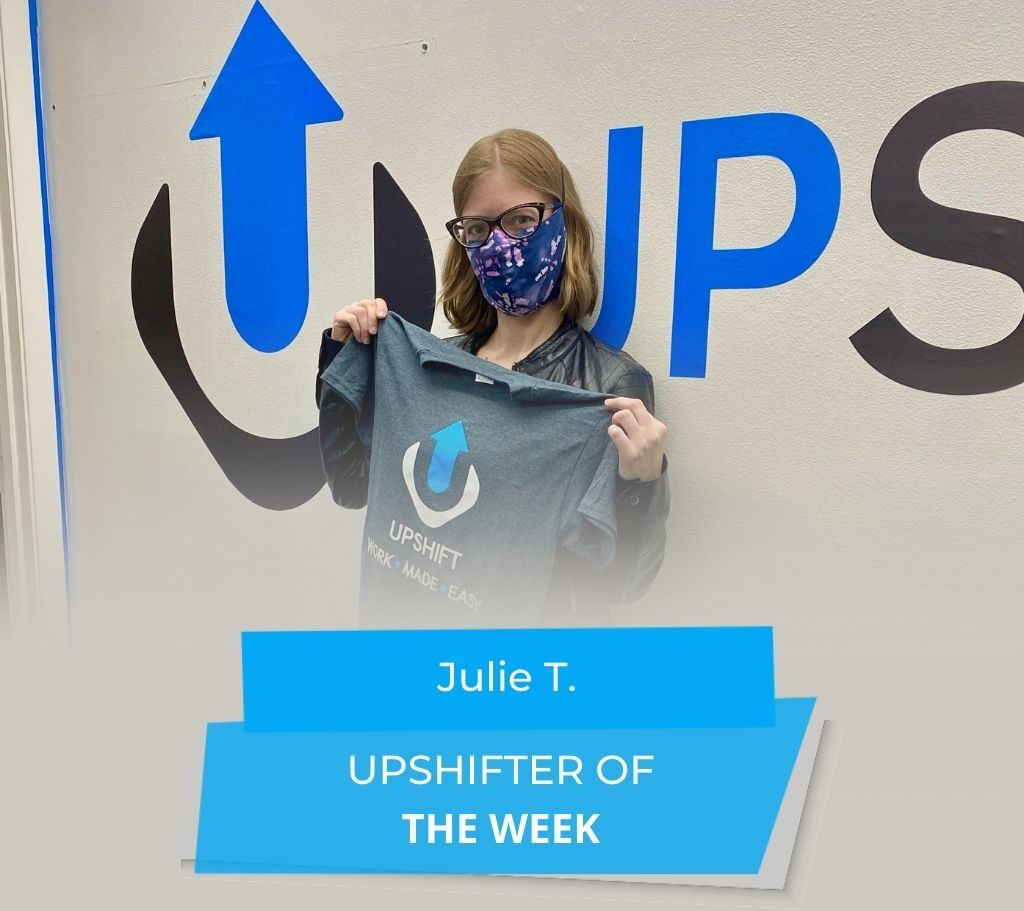 UPSHIFTER OF THE WEEK